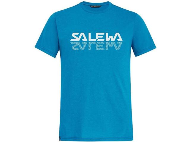 SALEWA Reflection Dri-Rel SS Tee Men blue danube melange